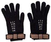 Missoni Knit Bow Gloves