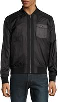 Calvin Klein Men's Solid Surplus Zip-Up Jacket - Black, Size xx-large
