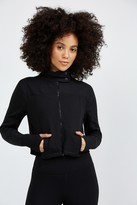 Beyond Yoga BOXED IN CROPPED JACKET
