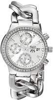 Jivago Women's JV1246 Analog Display Swiss Quartz Silver Watch