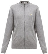 Bella Freud Suzuka Striped Cashmere-blend Jacket - Womens - Grey