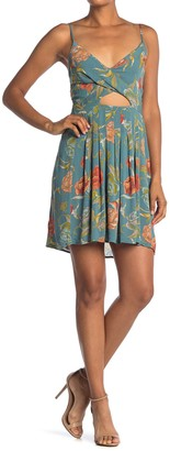 O'Neill Karleen Floral Cutout Mini Dress