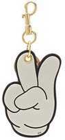 Anya Hindmarch Mickey Hands Leather Keychain