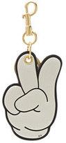 Anya Hindmarch Mickey Hands Leather Keychain
