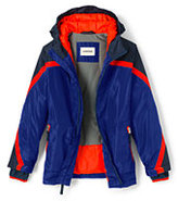 Lands' End Toddler Boys Stormer Jacket-Cadet Gray