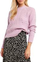 Bardot Cable Knit Sweater