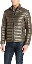 Halifax Traders Men's Nylon Down Packable Puffer Jacket