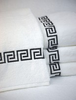 The Well Appointed House Greek Key Bath Towel Collection