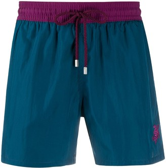 Vilebrequin Turtle-Embroidered Swim Shorts