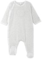 Petit Bateau Baby boy sleepsuit in a milleraies stripe