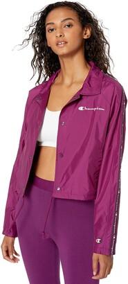 Champion Life Cropped Coaches Jacket