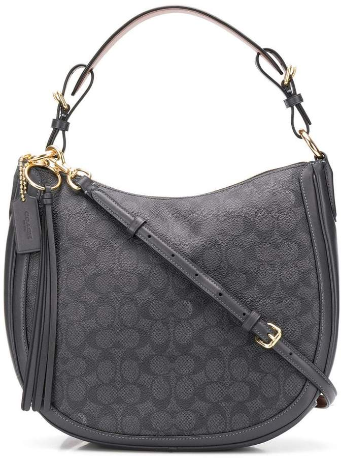 fc9f7a00d825a4 Coach Leather Hobo Bags for Women - ShopStyle UK