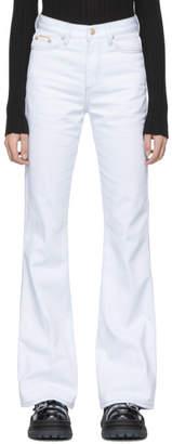 Eytys White Twill Oregon Jeans