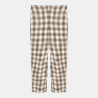 Theory Skinny Legging in Grid Stretch Cotton
