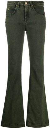 L'Autre Chose Mid-Rise Flared Jeans