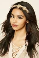 Forever 21 FOREVER 21+ Floral Leaf Headband
