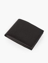 Maison Margiela Black Leather Folding Wallet