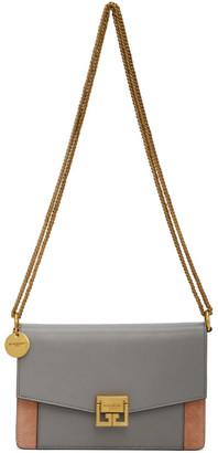 Givenchy Grey and Pink Mini GV3 Bag