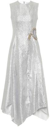 J.W.Anderson Embellished midi dress