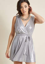 BB Dakota Invite to Shine Mini Dress in 4 - Sleeveless Wrap by from ModCloth