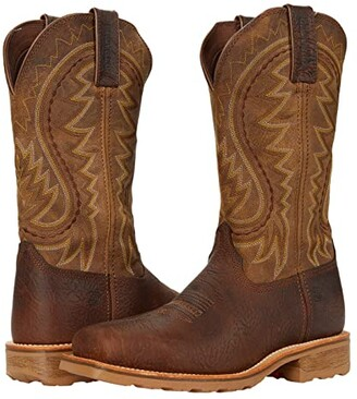 Durango Maverick Pro 12 Steel Toe (Flaxen Brown) Men's Shoes