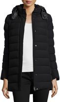 Peuterey Quilted Down Puffer Jacket, Nero