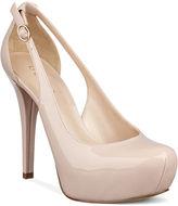GUESS Women's Shoes, Jacoba Platform Pumps