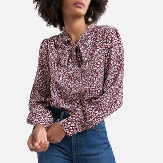 Freeman T. Porter Printed Blouse