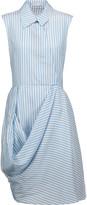 J.W.Anderson Draped crepe dress
