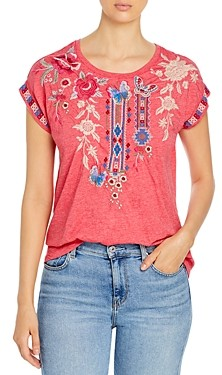 Johnny Was Florence Relaxed Tee
