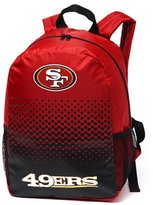 NFL San Francisco 49ERS Official Fade Backpack/Rucksack
