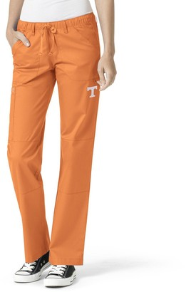 Women's Tennessee Orange Tennessee Volunteers Straight Leg Scrub Cargo Scrub Pants