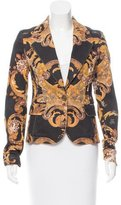 Just Cavalli Baroque Print Structured Blazer