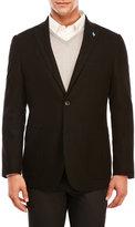 Tailorbyrd Solid Black Coat