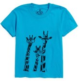 Kid Dangerous Boy's Giraffes Graphic T-Shirt