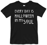 Urban Smalls Black & White 'Halloween In My Soul' Tee - Toddler & Boys