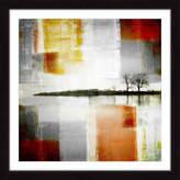 Parvez Taj Distant Shore Framed Print