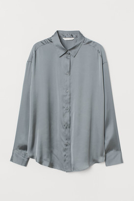 H&M Satin blouse