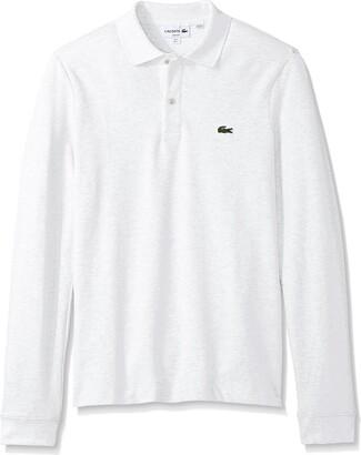 Lacoste Men's Long Sleeve Classic Slim FIT Pique Polo