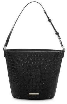 Brahmin Melbourne Quinn Leather Bucket Bag