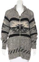 Etoile Isabel Marant Oversize Wool-Blend Cardigan