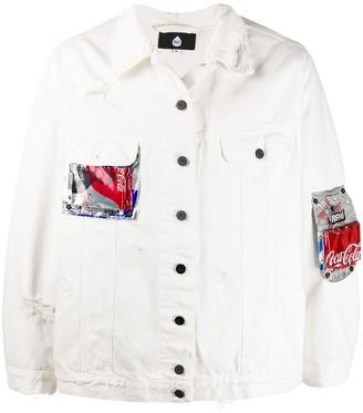 DUOltd Patchwork Denim Jacket