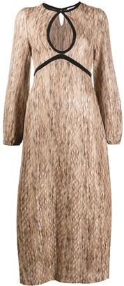 Rixo Iris knitted midi dress