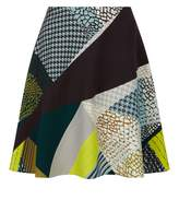 Jaeger Pattern Clash Skirt