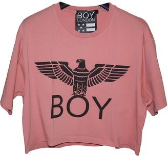 Boy London Pink Cotton Top for Women
