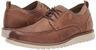 Dockers Faraday Smart Series Oxford (Tan Burnished Crazy Horse) Men's Lace up casual Shoes