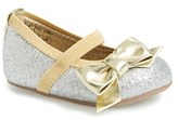 Stuart Weitzman Infant Girl's 'Baby Pali - Gaby' Mary Jane Crib Shoe