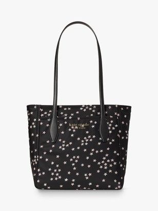 Kate Spade Stars Medium Tote Bag, Black