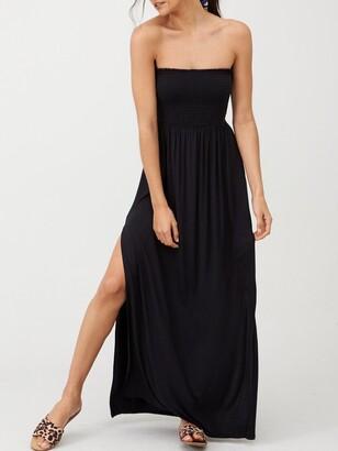 Very Bandeau Maxi Dress - Black