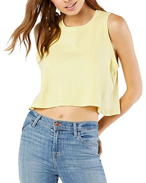 Beyond Yoga Don't Distress Balance Cotton Crop Top